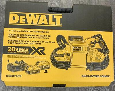 "DeWalt DCS374P2 5"" Deep Cut Band Saw Kit"