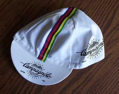 Campagnolo White Cycling Cap - Bike Hat