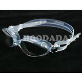 New SPEEDO Professional Adult Swim Goggles UV ANTI FOG LATEX-FREE Black-Clear