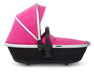 stunning silver cross surf carrycot in hot pink NEW DAMAGED BOX HENCE 1/2 RP £%