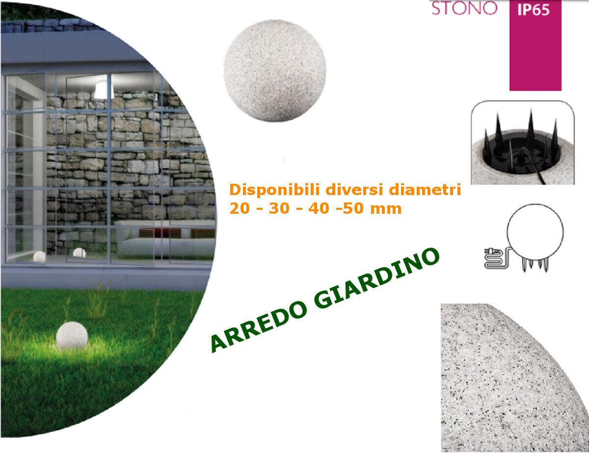 Globo Luminoso per arredo Giardino LED E27 illuminazione
