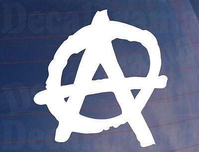 ANARCHY SYMBOL Novelty Car/Van/Window/Bumper/Laptop Punk Sticker/Decal