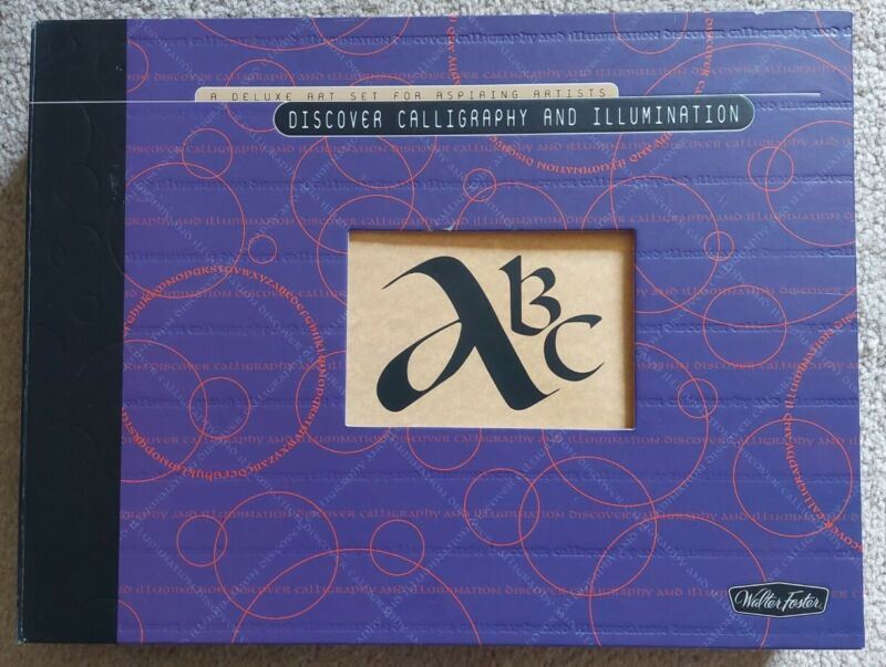 Discover Calligraphy and Illumination: A Deluxe Art Set for Aspiring Artists