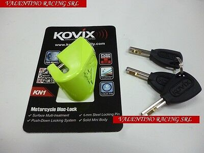 BLOCCA DISCO KOVIX KN1 PERNO 6 mm VESPA PX 125 150 200 LML STAR 125 150 151 200