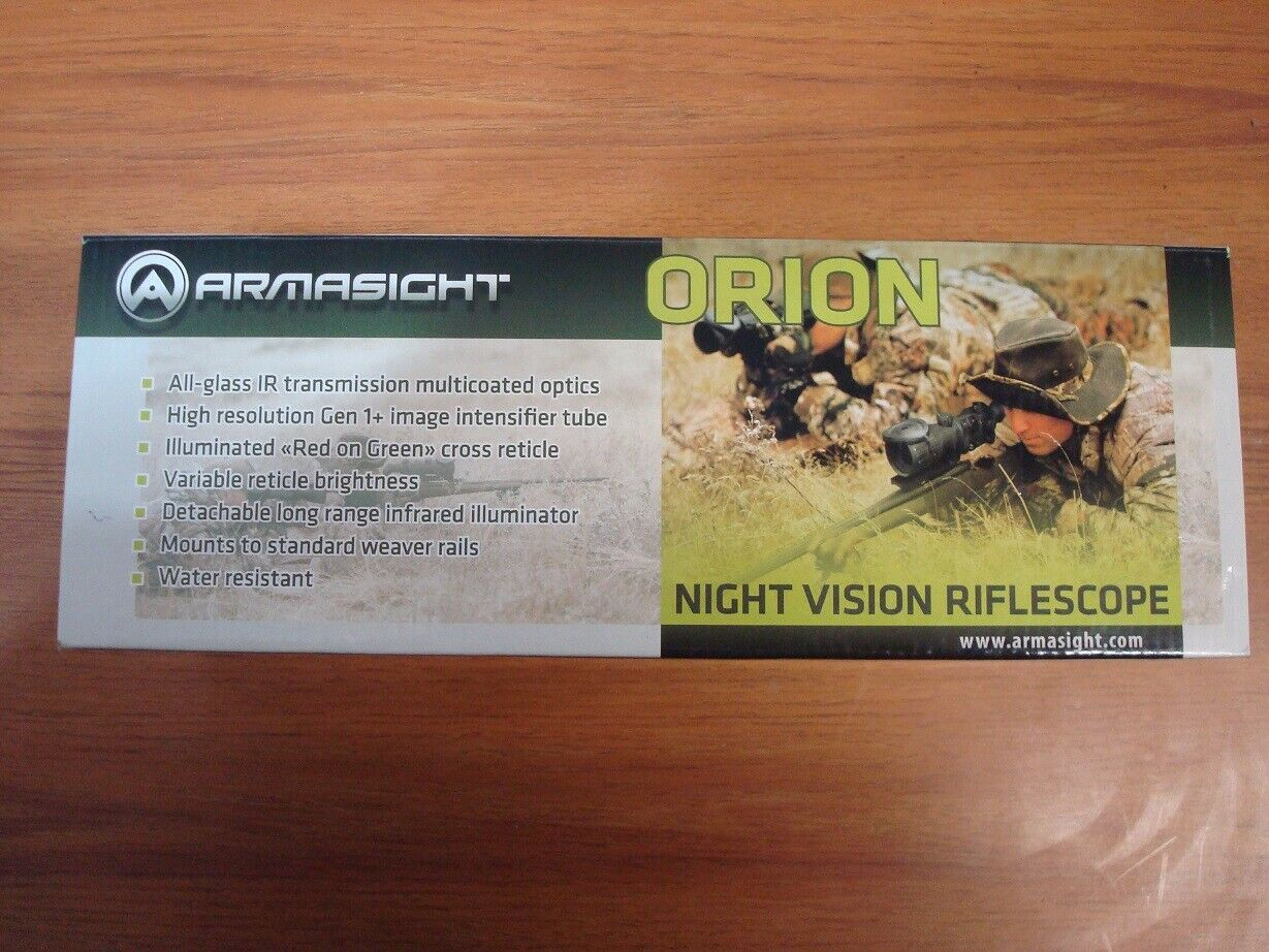 Armasight Night Vision Scope Orion 4X Brand New Sealed Packa