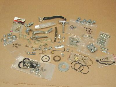 Vintage Nos New Bike Shop Bicycle Parts Lot Reflector Screws Bolts Hardware Etc