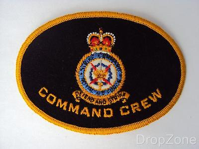 Queen's Crown Raf Royal Air Force Command Crew Aufnäher