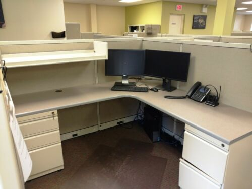 Used Office Cubicles, Steelcase Avenir Cubicles 6x6