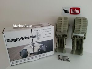 DINGHY LAUNCHING WHEELS INFLATABLE RIBS Youtube Video Inside