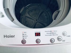 NEW apartment size 5kg Haier portable washer ...//canDeliver