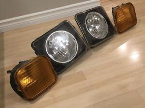 Hummer H3 Headlights 2006-2010