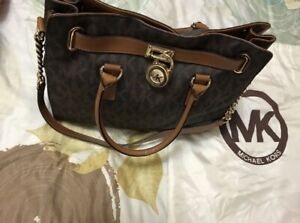 Michael Kors Leather Satchel HandBag Authentic