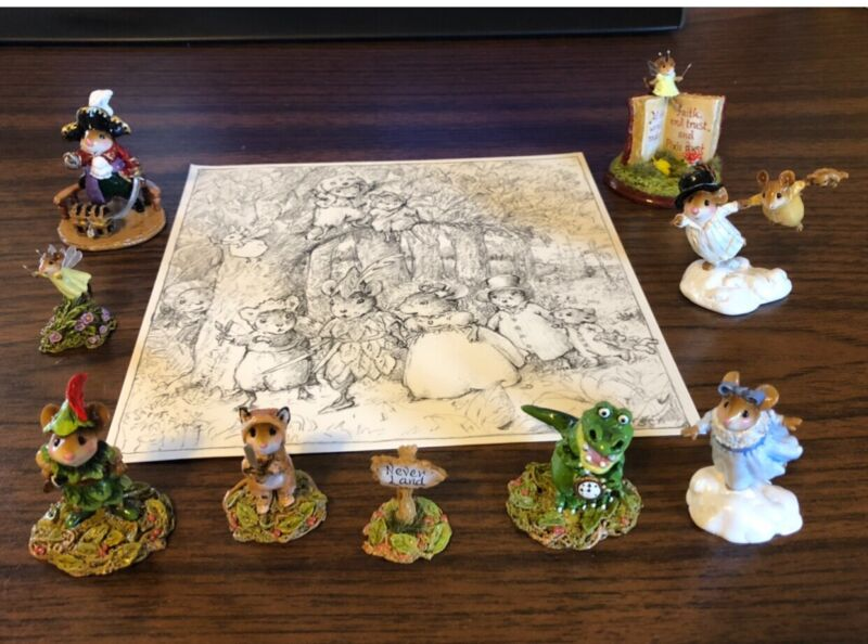 Wee Forest Folk 2018 Neverland Adventure Pieces - Mint Condition