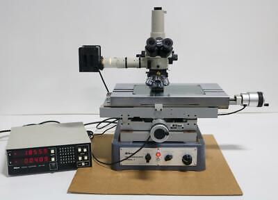 Nikon Model Ii Measuring Microscope