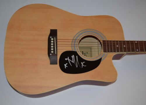 Tim McIlrath Signed Autographed Full Size Acoustic Guitar RISE AGAINST COA