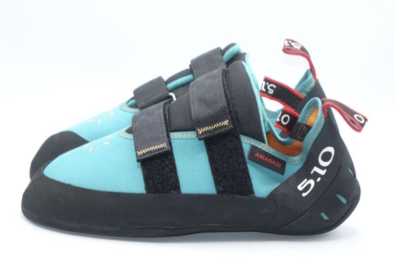 Size 10.5 - Women's Adidas Five Ten Anasazi LV Climbing Shoes BC0953