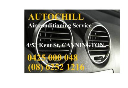 Auto Air con Repairs (AC Regas ) , Free initial check Cannington Canning Area Preview