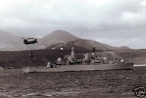 Royal-Navy-HMS-Bristol-Falklands-War-Ascension-Island-1982-7x5-repro-photo