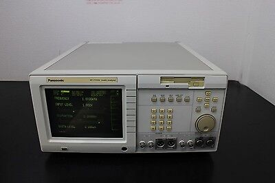 Panasonic Vp-7732a Digital Audio Analyzer