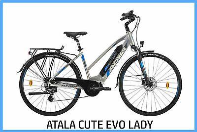 Bicicleta Eléctrica Bici Pedaleo Asistido E-Bike de Mujer Atala Cute Evo Lady