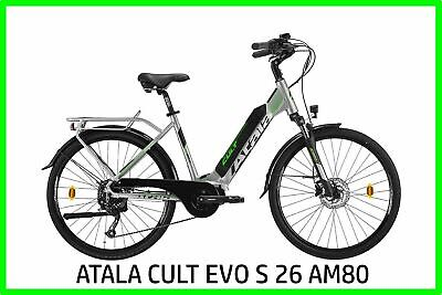 Bicicleta Eléctrica Bici Pedaleo Asistido Mujer City Ebike Atala Culto Evo S26