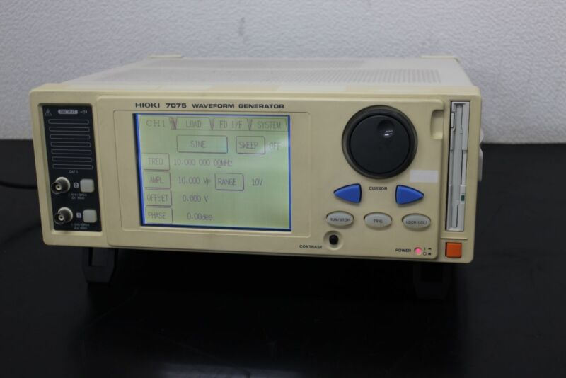 Hioki 7075-01 10mhz 2ch Waveform Generator