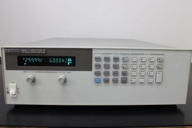 Hp 6811a 375va 300v Ac Power Source