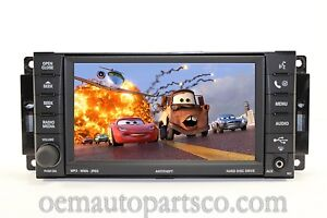 MOPAR-FACTORY-OEM-430-REZ-REN-CD-MP3-DVD-HDD-AUX-MYGIG-RADIO-HIGH-SPEED-BUS