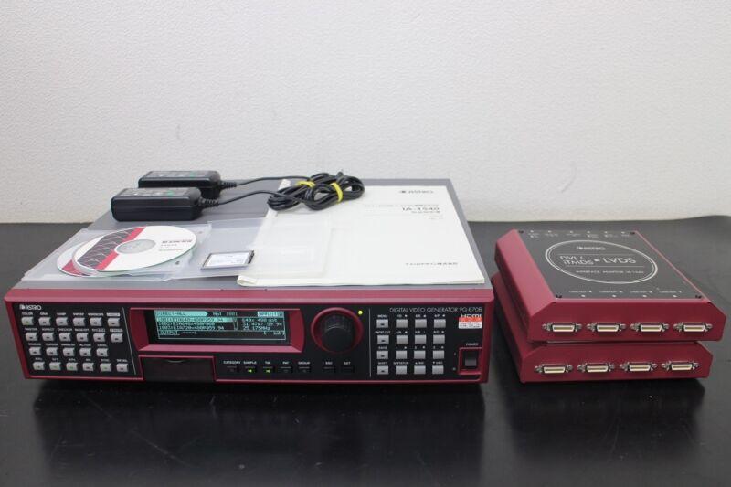 Astro Design Vg870b 2k 4k Programmable Video Signal Generator