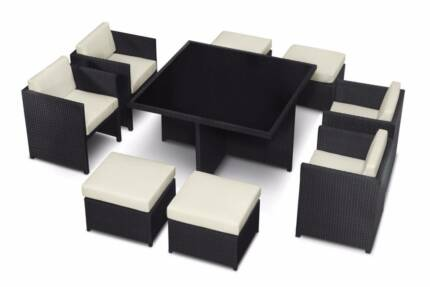 CLEARANCE -  COSIMO OUTDOOR DINING CUBE