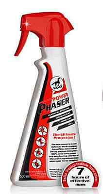 LEOVET PHASER C/W SPRAY protection against insects and all horse flies 500ml