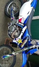 Yzf 250 Road registered