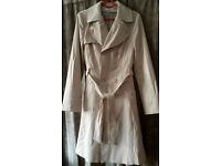 Ladies trench coat, Ex Cond. Size 10