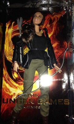 Katniss Barbie Doll The Hunger Games Black Label New W3320