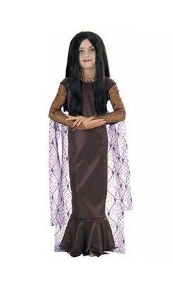 The Adams Family Costume (The New Adams Family Series Morticia Halloween Childs Costume (Medium/Size)