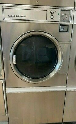 Heubsch Commercial Gas Single Pocket 30 Pound Coin Operated Dryer