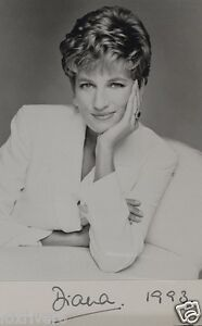 DIANA-Princess-Of-Wales-Signed-Photograph-British-Royalty-preprint