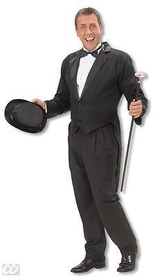 XL Gentleman 20 er Jahre Kostüm Krawatte jabot edelmann Frack für den Baron ()