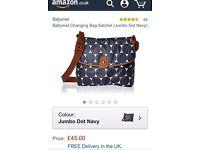 Brand new babymel changing bag RRP £45