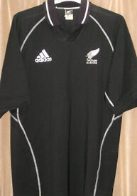 New Zealand All Blacks New late 90's style Rugby UNION Shirt by Adidas XL