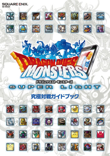 Dragon Quest Monsters Super Light Ultimate Battle Guide Book JAPAN ios android