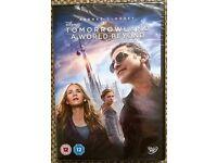 Tomorrowland: A World Beyond, Disney DVD BRAND NEW