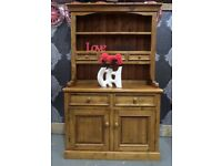 Stunning Reclaimed Chunky Pine Waxed Dresser 4 Foot Wide Farmhouse - UK Delivery