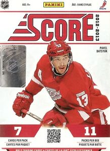 2012-13   Score Hockey  Complete Set 548 Cards ( 48 RC's)