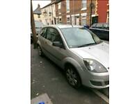 Cheap 2006 ford fiesta 1.2 style. 3 doors silver