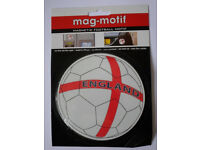 Joblot 1000+ Magnetic footbal motif Car/Fridge Magnet Wholesale Clearance Stock