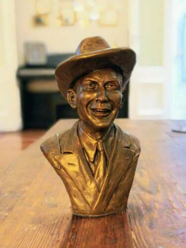 Hank Williams Sr. Figure Bust Sculpture