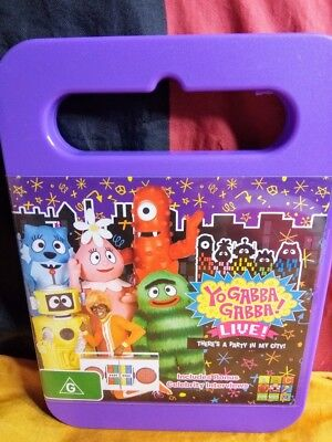 Yo Gabba Gabba! - Live - There's A Party In My City (DVD, 2012) - Party City Yo Gabba Gabba