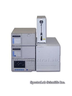Shimadzu Hplc System Lc-10ad Spd-10a Scl-10a Sil-10a