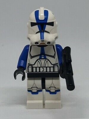 Lego Star Wars 501st Legion Clone Trooper Minifigure 75002 75004 Helmet with Gun